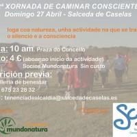 Cartel ioga sendeirismo 27 de abril
