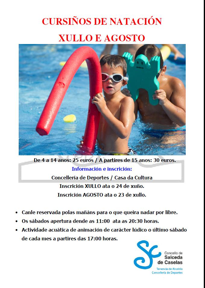 Cartel piscina