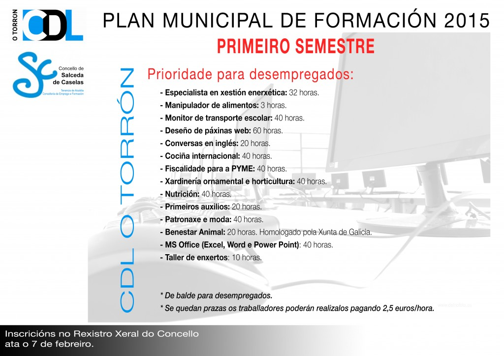 Plan de Formación 2015 - Fase 1