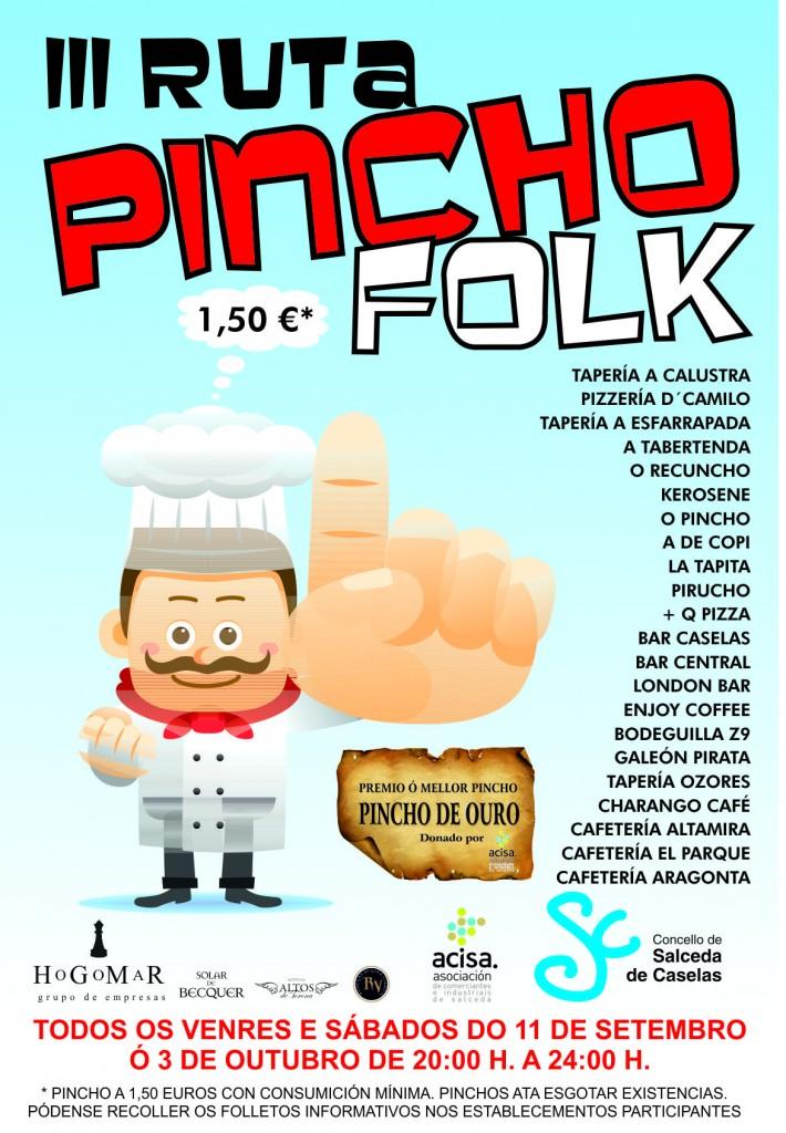 Concello de Salceda-Cartel do Pincho Folk 15